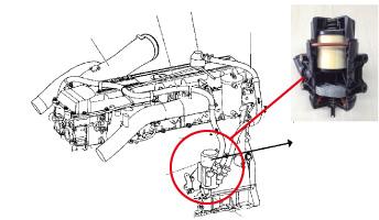 hino fault code p0045