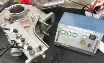 エアーシリンダー式アクチェーターの作動テスト